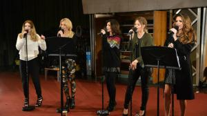"Girls Aloud Doing ""Beneath Your Beautiful"" / BBC Radio 1 Image"