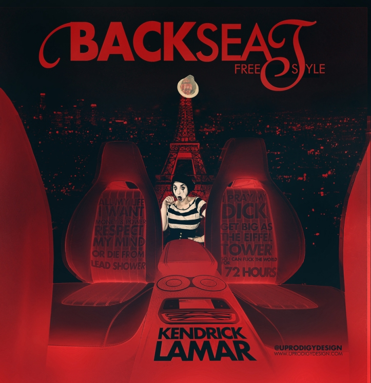'Backseat Freestyle' Official Artwork