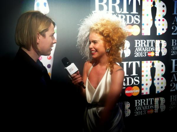 British Critics Choice Award Winner Tom Odell On The Red Carpet With Paloma Faith