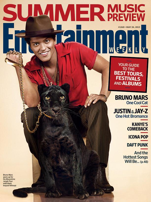 Bruno Mars For EW / Photo: EW