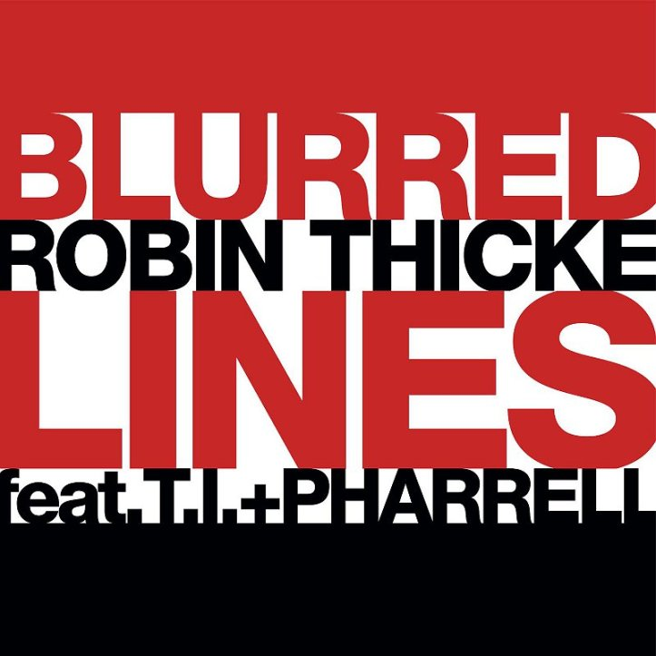 """Blurred Lines"" Cover Art"