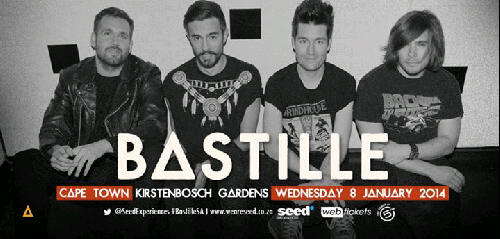 Bastille Will Perform In Cape Town and Joburg in January 2014