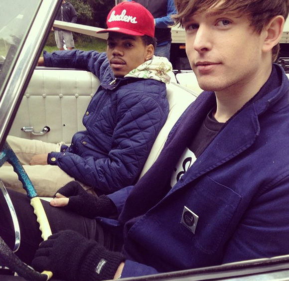james blake chance the rapper round