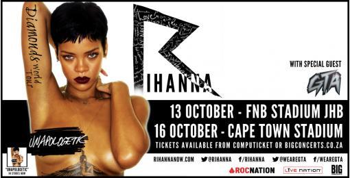 Rihanna / Image Via Big Concerts