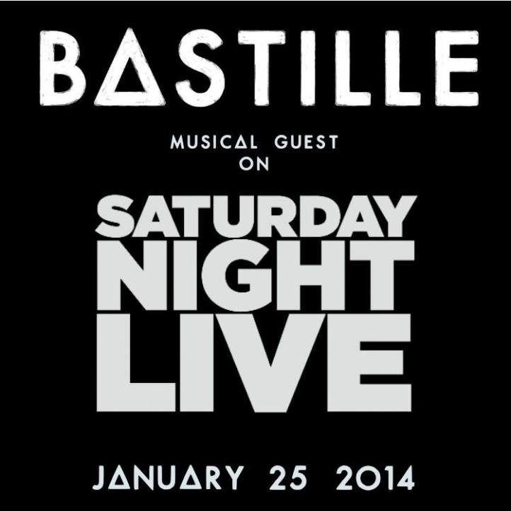 Bastille Are Set To Rock SNL January 25