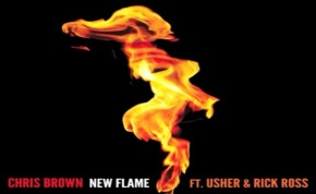 "Chris Brown Releases ""New Flame"" Featuring Usher + Rick Ross [Listen]"