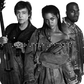 Rihanna Drops New Song 'FourFiveSeconds' With Kanye and Paul McCartney