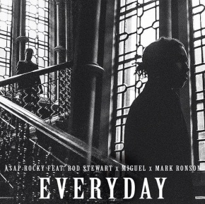 A$AP Rocky Shares New Track 'Everyday' Featuring Miguel, Mark Ronson and Rod Stewart